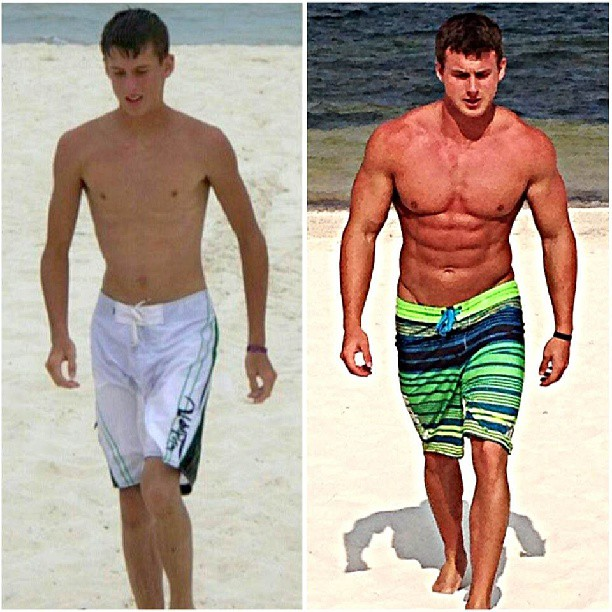 Skinny Teen Turn Muscular Ectomorph Body Transformation