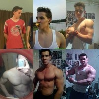 From Skinny To Swole Body Transformation