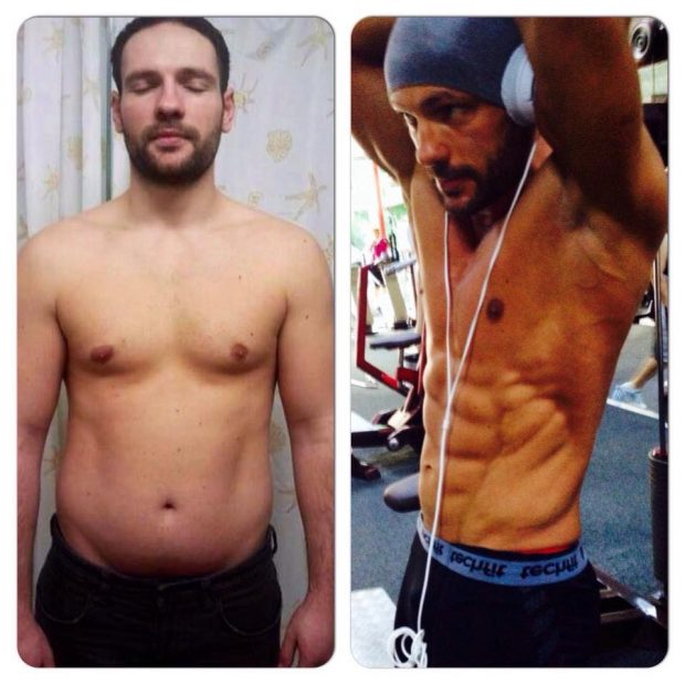 Radu Took Body Transformation and His Training To The Next Level