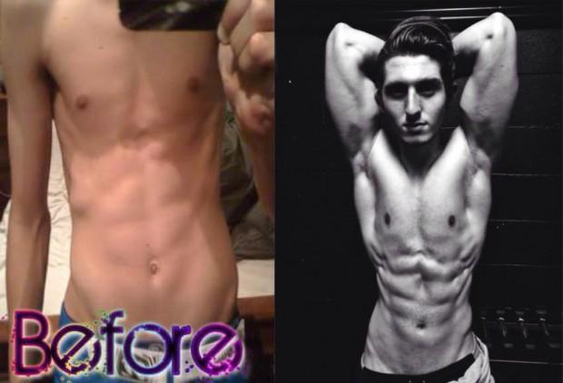 Inspiring Teen Fitness Model Adam Ratkovic Body Transformation INTERVIEW