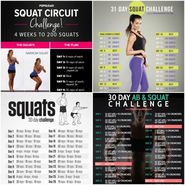 top squat challenge