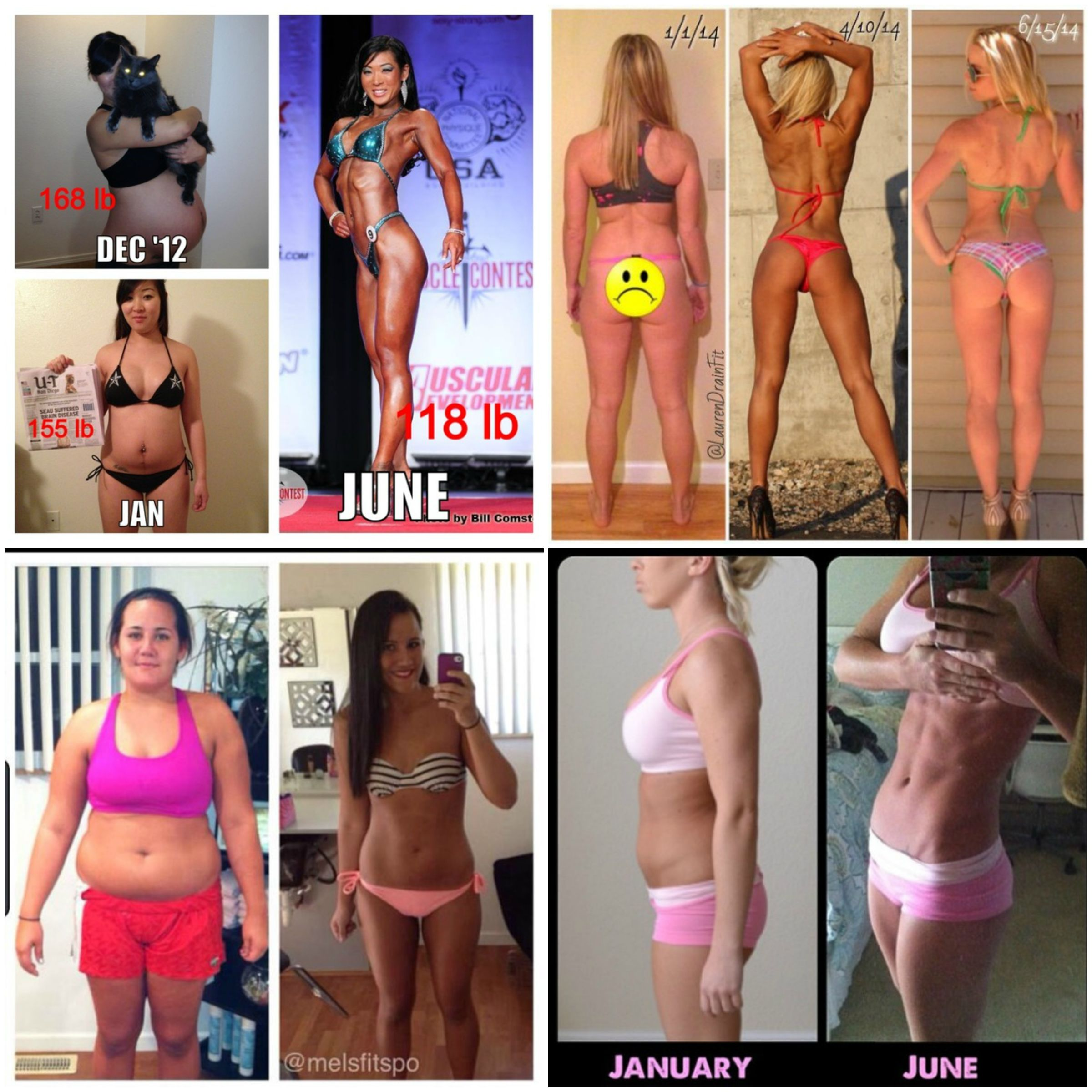 a: Female Body Transformation 3 Months, Female