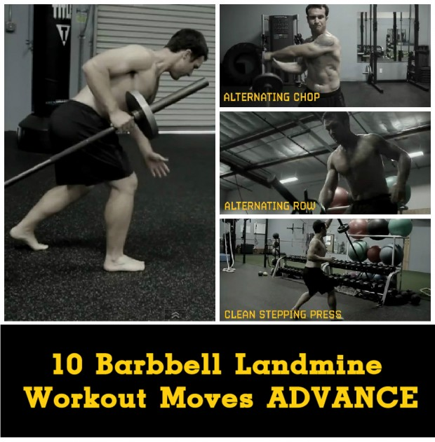 Full Body Workout With Only Barbell Top 10 Landmine Workout Moves