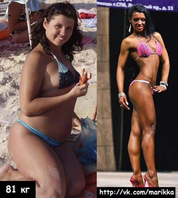 Russian Girl Shocking Transformation Into A Fitness Babe