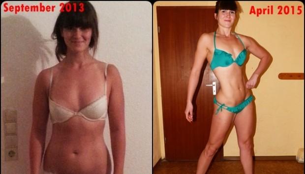 Adriana Path To A Bikini Body Transformation