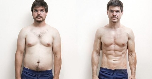 Man Body Transformation Routine Looks Like A Scene From The Flintstones