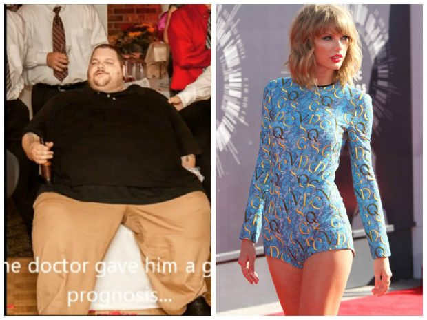 Man Stunning 600lbs Weight Loss Transformation Inspired By Taylor Swift