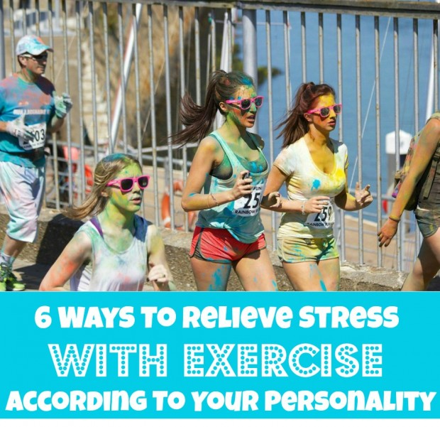 6 Ways To Relieve Stress With Exercise According To Your Personality