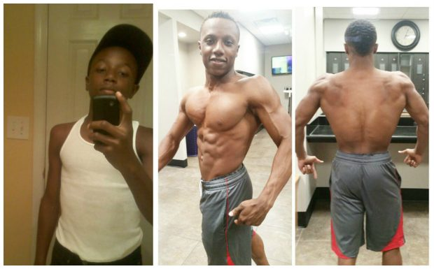 17 Year Old Teen Aesthetic Physique Transformation
