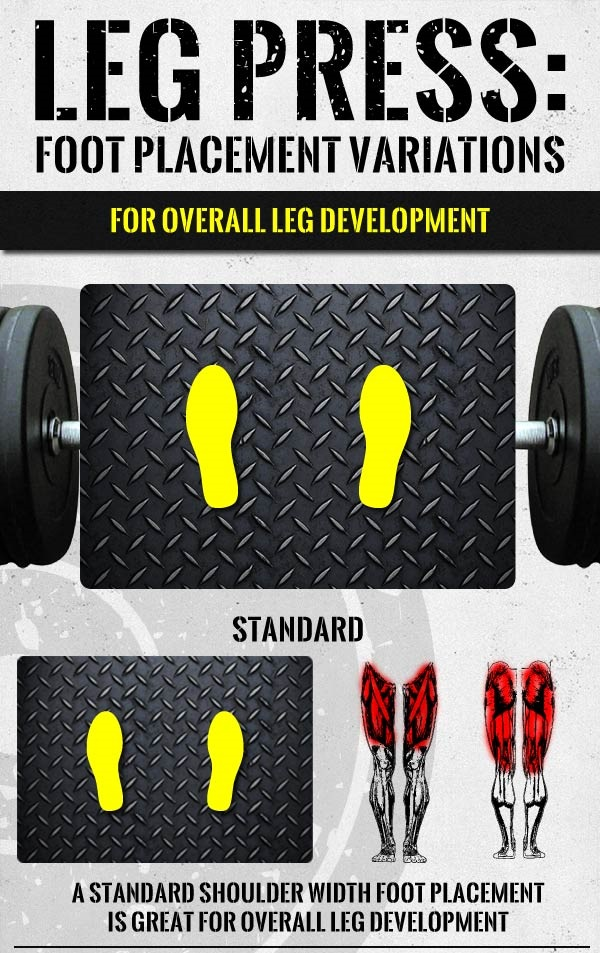 Leg Press Workout Foot Placement For Maximum Muscle Gains