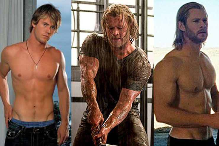 Chris Hemsworth transformation