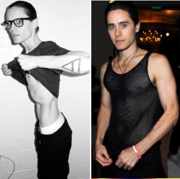 jared leto -male-weightloss-transformation