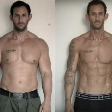 skinny muscular transformation