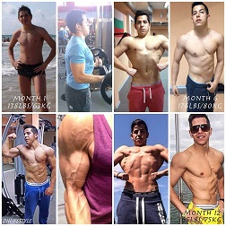From Young Football Talent to Beast Body Transformation