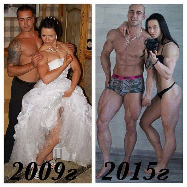 10 Fitness Couples Show Their Hard Bodies