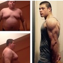 5 FAT to Aesthetic Teen Bodybuilding Transformation 2015