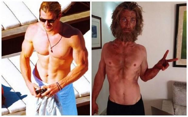 Chris Hemsworth MASSIVE Weight Loss For New Movie