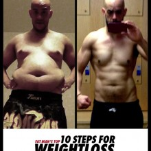 FAT MAN'S 10 STEPS FOR WEIGHT LOSS THAT WORKS