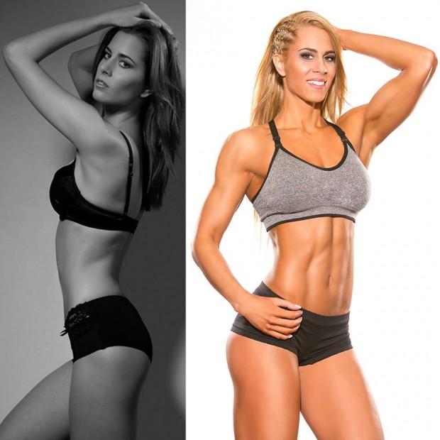 Helga female muscle transformation