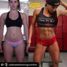 5 Motivational Female Fitness Models Before and After Transformation