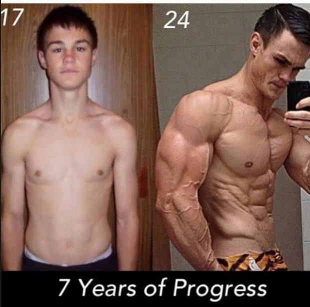 50 Motivational Teen Skinny to Muscular Body Transformation VIDEO