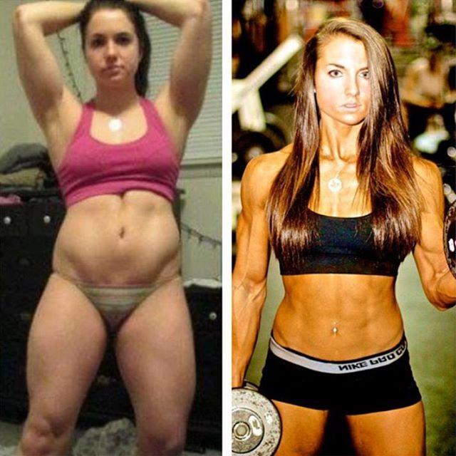 15 KICKASS Female Body Transformation On Instagram That