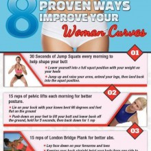 8 Proven Ways to Improve Your Woman Curves