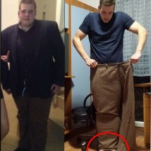 Simeon Overcome Mental Chanllenges and Lost a Stunning 56kg