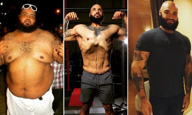 Walmart Diet Help Obese Man Lose 300 Pounds