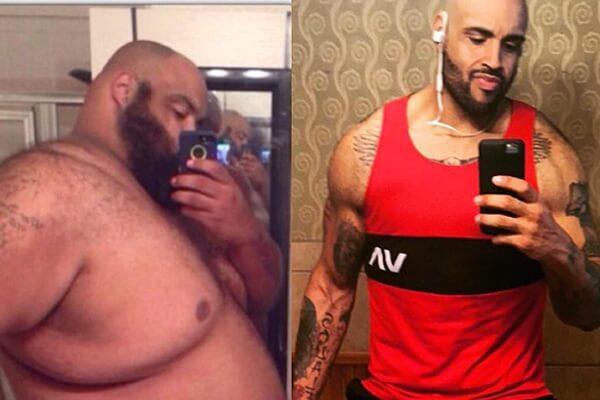 Walmart Diet Lose 300 Pounds-transformation-