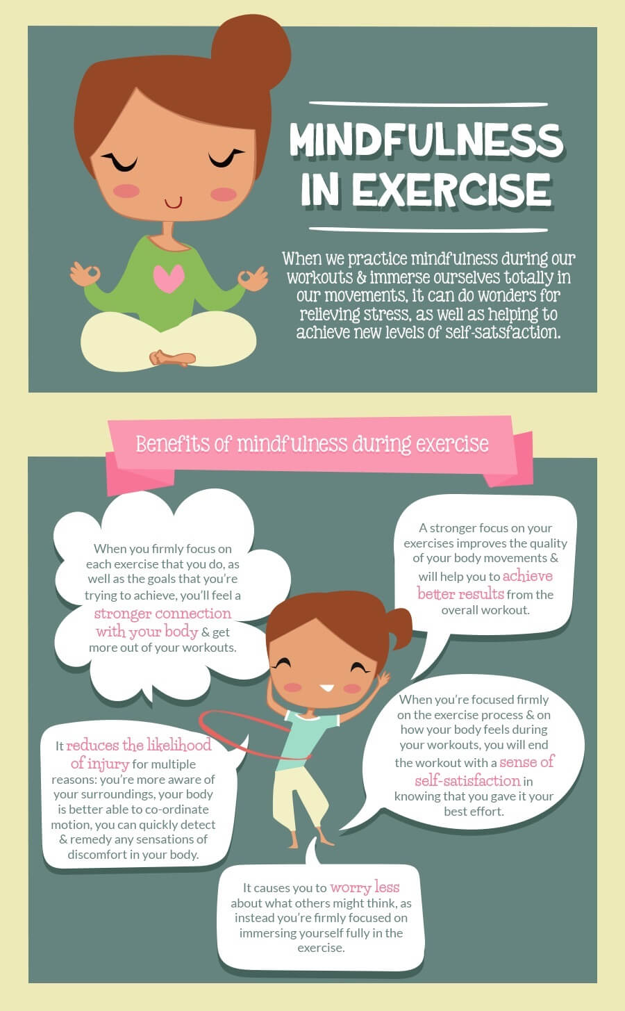The Benefits of Mindfulness During Exercise