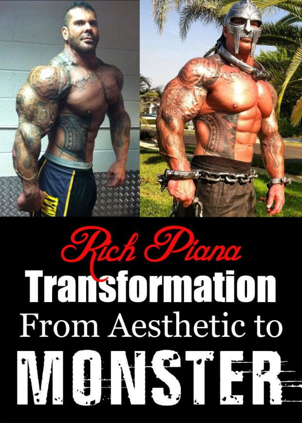 Rich Piana Transformation From Aesthetic to Monster