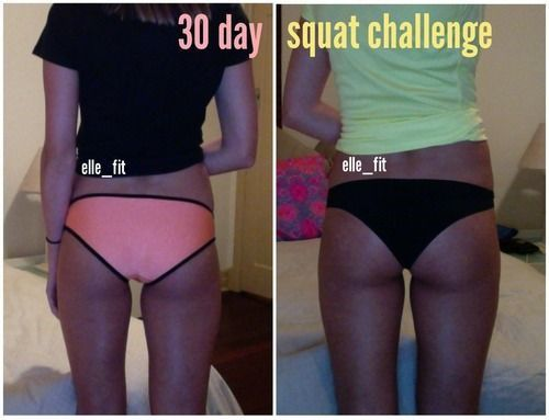 5 Realistic Results of The 30 Day Squat Challenge
