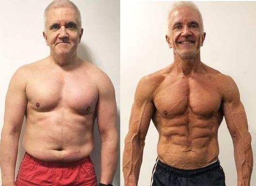 body transformation men2021