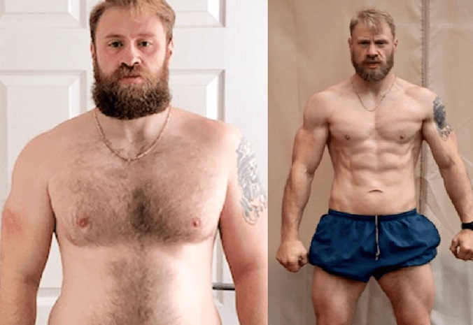 body transformation men