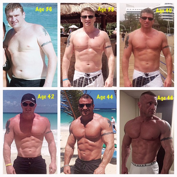 Mike Learned It's Never Too Late To Get Ripped