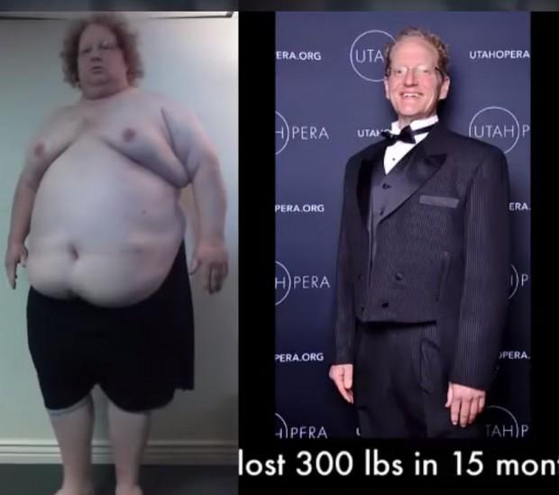 300 lbs fat loss transformation