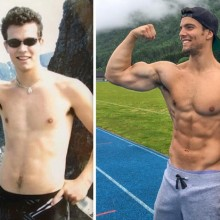 Vegan Bodybuilder Impressive Transformation
