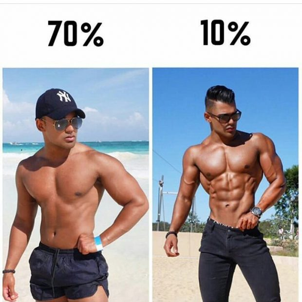 RIPPED V-Cut Abs Fast