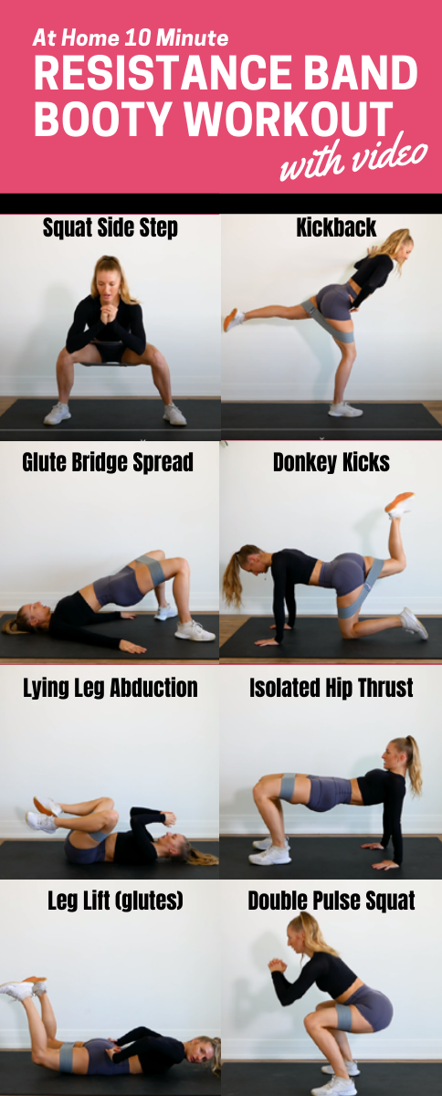 Resistance Band Glute Workout