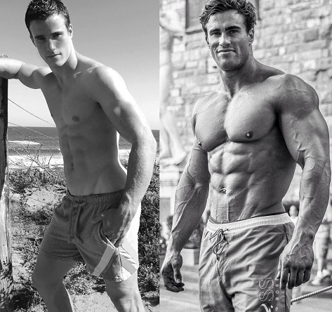 steroids Before and After Transformation Photos